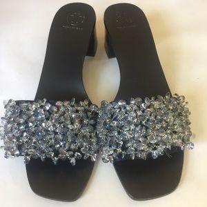 0de4747c2d6d8 Tory Burch Shoes - 💥SALE💥TORY BURCH  378💥 Logan Embellished Slides
